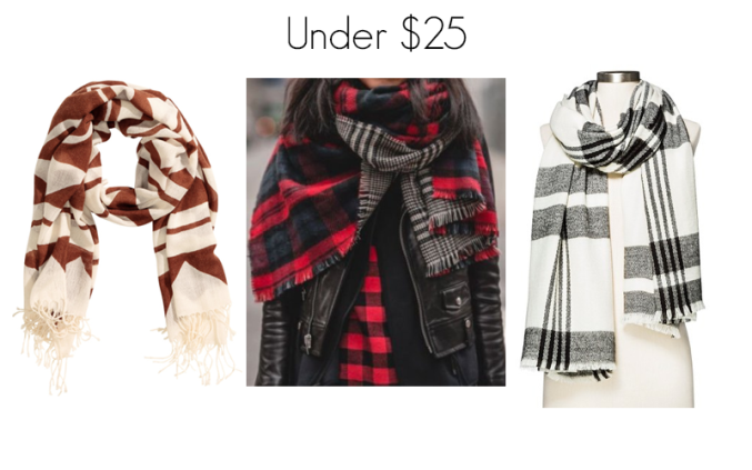 Blanket Scarves Under 25
