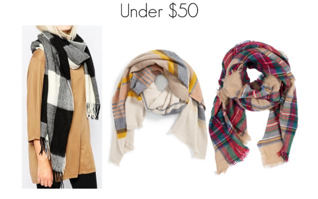 Blanket Scarves Under 50