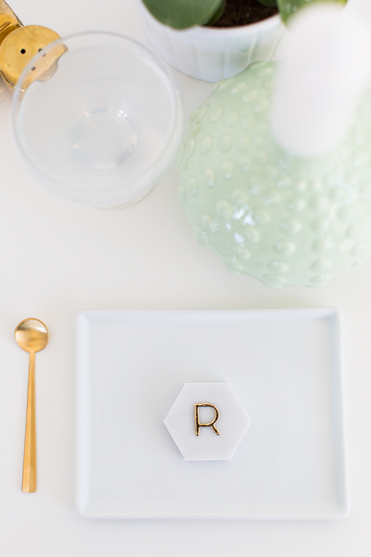 DIY-Marble-Hexagon-Place-Cards-4