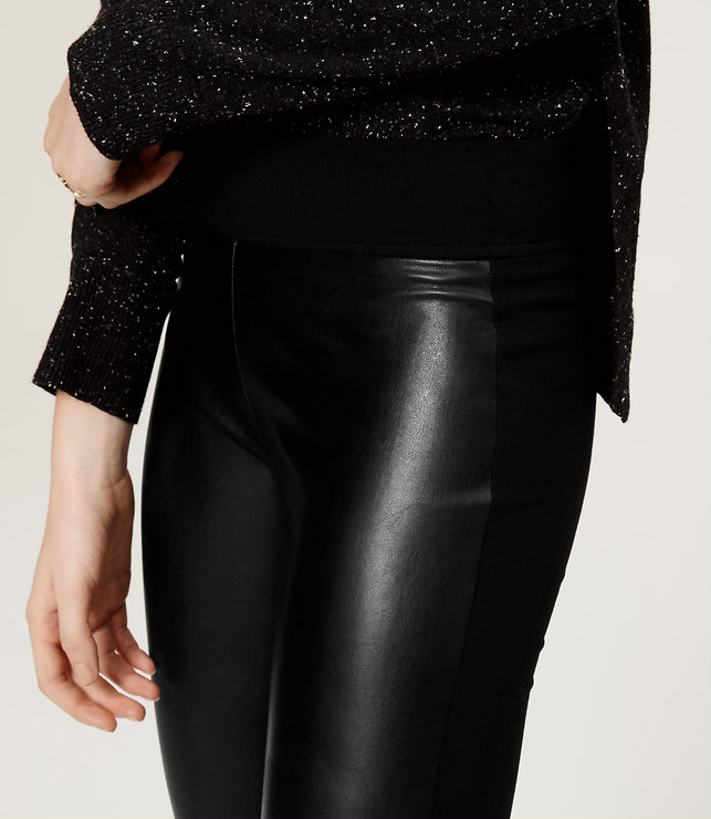 loft leather leggings